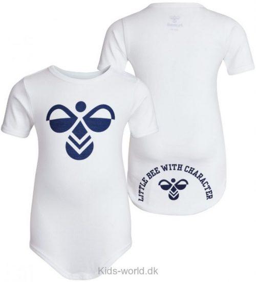 Hummel Body - K/Æ - Filur - Hvid m. Navy Logo