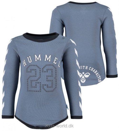 Hummel Body - L/Æ - Bassa - Støvet Blå m. Vinkler