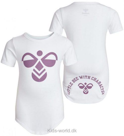 Hummel Body - K/Æ - Filur - Hvid m. Lilla Logo