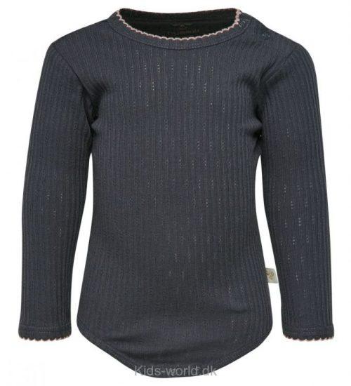 Hummel Body l/æ - Siv - Koksgrå m. Mønstret Rib