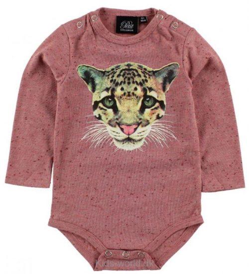Petit by Sofie Schnoor Body l/æ - Rosameleret m. Leopard