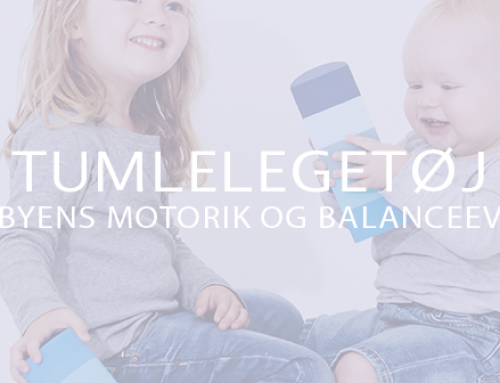 Tumlelegetøj – sådan fremmer du babyens motorik og balanceevne