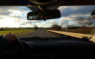 spejl til bilen