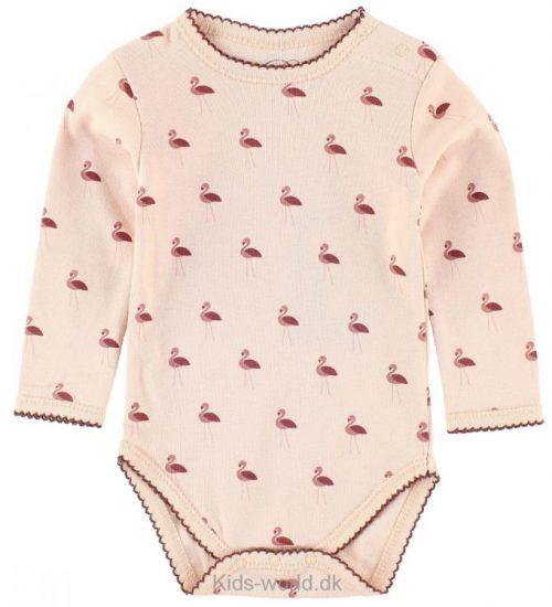 Petit by Sofie Schnoor Body l/æ - Rosa m. Flamingoer