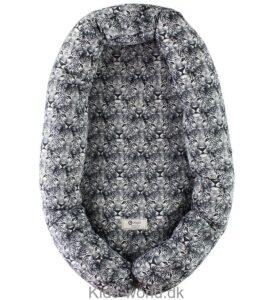 sort og hvidt leopard-print