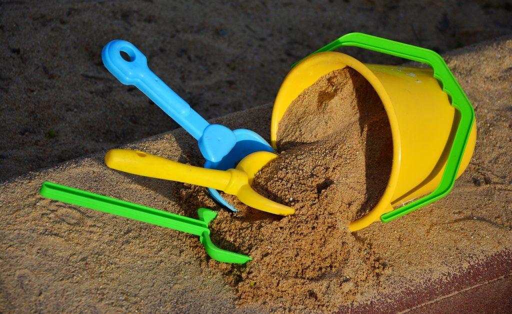 sand til sandkassen