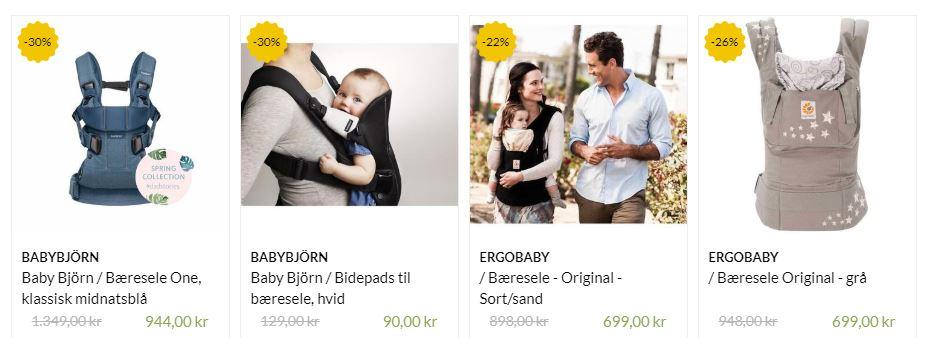 Bæreseler fra Mammashop.dk
