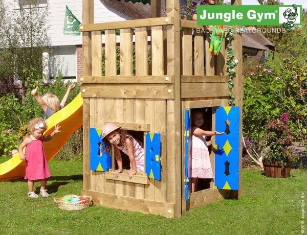 Jungle Gym Legehus 125 cm