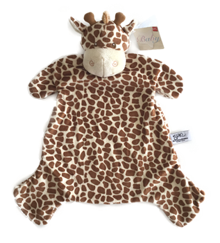 Giraf nusseklud med navn