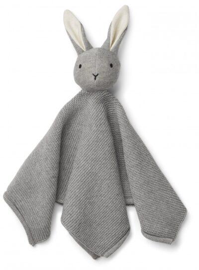 Milo strikket nusseklud fra Liewood - Grå kanin