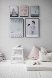 plakater til babyværelse